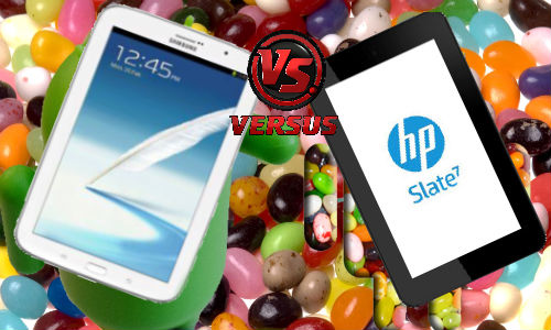 Samsung Galaxy Note 8.0 vs HP Slate 7: Android Jelly Bean Tablet Fight