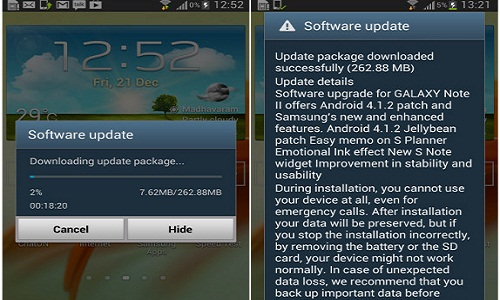Android 4.1.2: Samsung Galaxy Note 800 Gets the Update