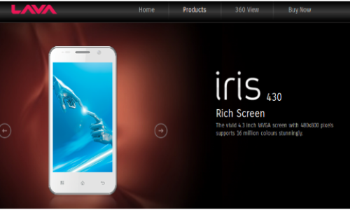 Lava Iris 430: Another Dual SIM ICS Smartphone Spotted