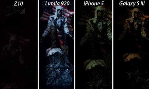 BlackBerry Z10 vs Lumia 920 vs iPhone 5 vs Galaxy S3: Camera Shootout
