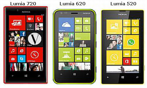 Lumia 720 vs Lumia 520 vs Lumia 620: Nokia WP8 Family Battle Heats Up