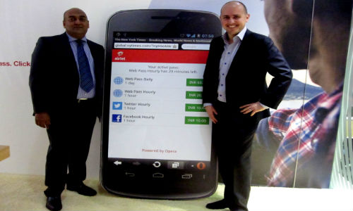 Airtel & Opera Launch Opera Web Pass