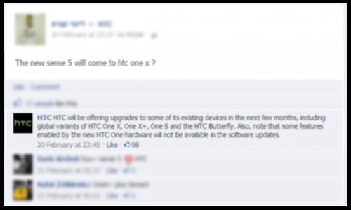 HTC One X, One X+, One S, Butterfly To Get Sense 5 UI By May
