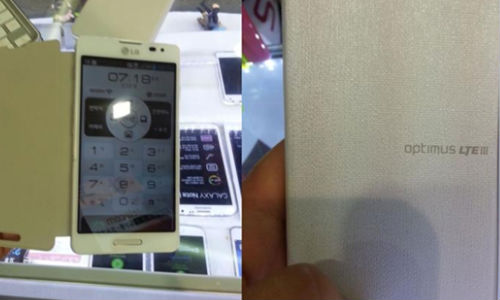 LG Optimus LTE III Spotted Loaded With 4G LTE, 720p Display and More