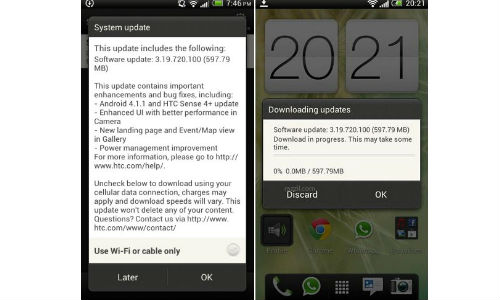 HTC One S Receives Android 4.1 Jelly Bean OTA Upgrade In India