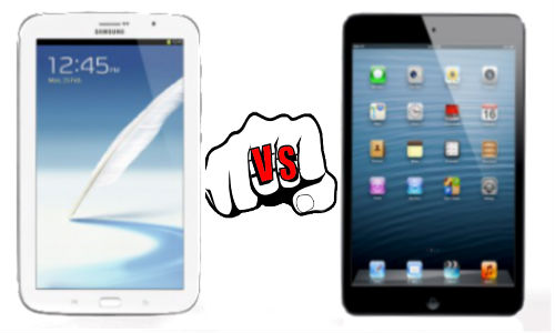 Galaxy Note 510 vs iPad Mini: Can Samsung Bite the Mini Apple Pie?