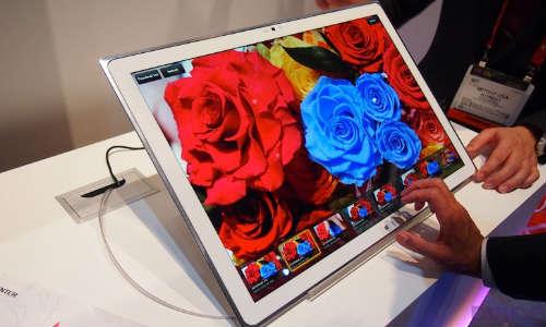 Panasonic Microsoft 4K Display Windows 8 Powered Tablet Coming Soon