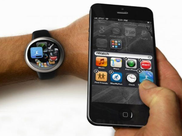 iWatch iPhone Interaction