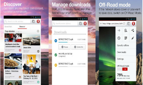 Opera Browser Beta for Android Launched With WebKit Rendering Engine