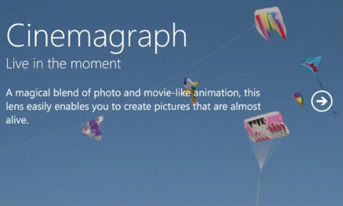 Nokia Lumia 920 Cinemagraph App Now Available for Windows Phone 7.x