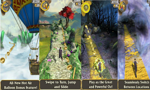 Temple Run: Oz Game Now Available for iOS and Android Devices