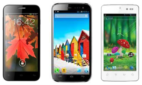 Lava Xolo Q800 vs Micromax Canvas HD vs Karbonn S1 Titanium