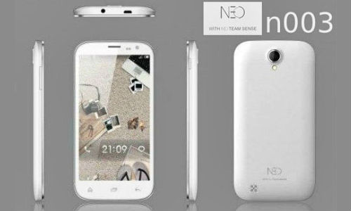 Neo N003: Cheapest Full HD Quad Core Smartphone Coming Soon