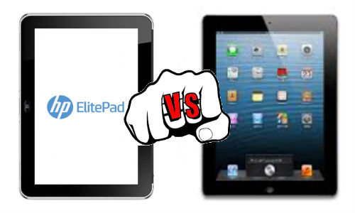 ElitePad 900 vs iPad 4: Can HP Windows 8 Slate Bite Apple Share?