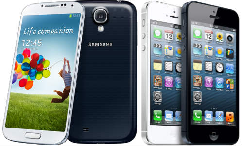 Samsung Galaxy S4 vs Apple iPhone 5: Hardware Tally
