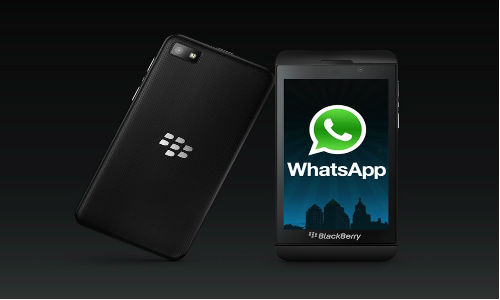 WhatsApp Messenger Officially Arrives on BlackBerry 10