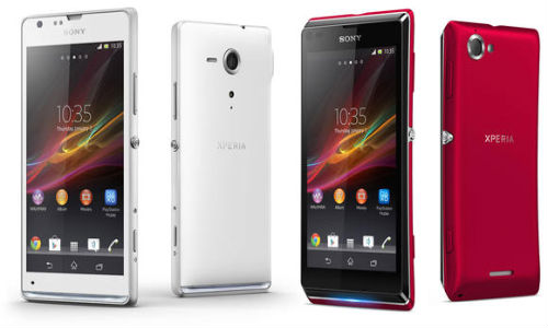 Sony Xperia SP, Xperia L: Two New Members Join the Xperia Smartphones