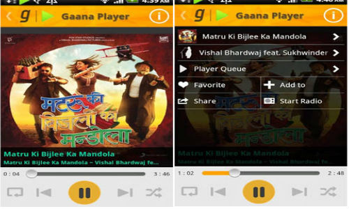 Gaana Music Streaming App Now Available for Windows Phone Devices