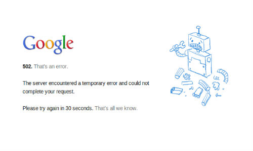 Google Drive Down for a Subset of Users: Cloud Service Issue Fixed