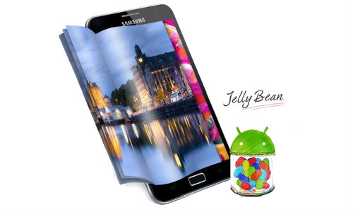 Samsung Galaxy Note in India Gets Android Jelly Bean Update