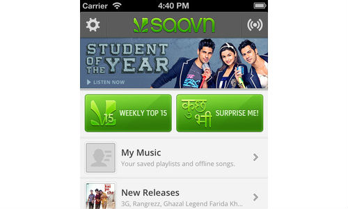 Saavn for iOS Update Introduces Subscription Based Saavn Pro Service