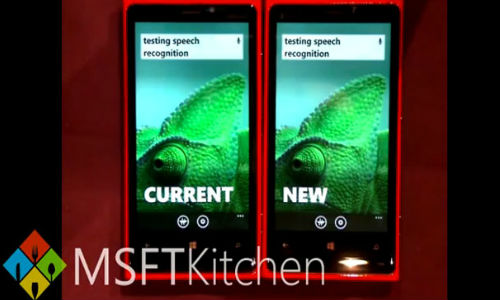 Advanced Windows Phone Speech Recognition Feature Shown in Video