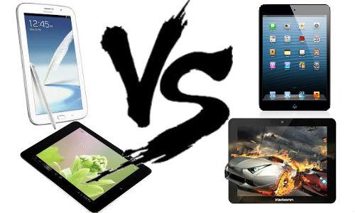 Samsung Galaxy Note 510 vs Competitors