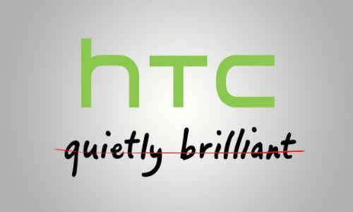 HTC Drops 'Quietly Brilliant' Tagline