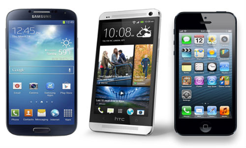 Galaxy S4 vs iPhone 5 vs HTC One:  Which Handset Has Better Battery?