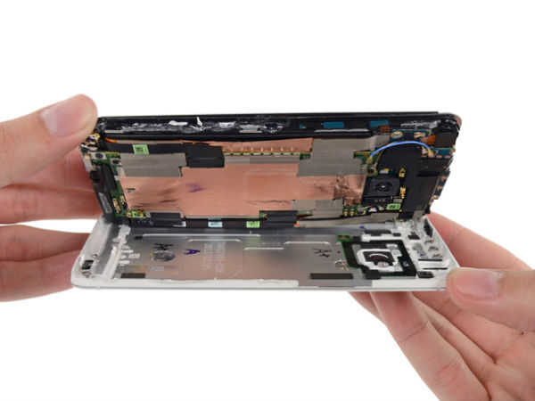 HTC One Teardown Images