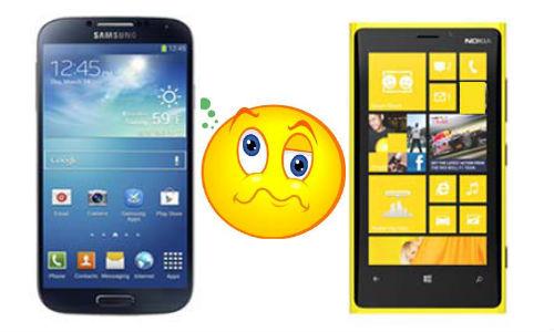 Galaxy S4 vs Lumia 920: Clash of the Samsung and Nokia Behemoths