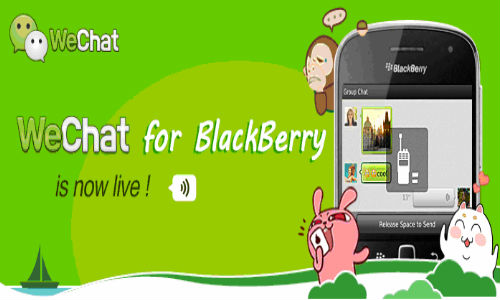 WeChat 2.0 For BlackBerry Gets Updated