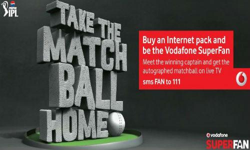 IPL 2013: Vodafone Launches Super Fan Contest