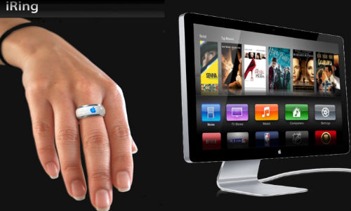 Apple iTV Rumored to Come With iRing Like Motion Controller