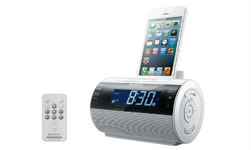 Sony Launches Lightning Plug Equipped iPhone Clock Radio Dock