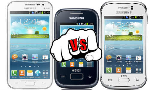 Samsung Galaxy Win vs Young vs Y Plus: Budget Phone Fight