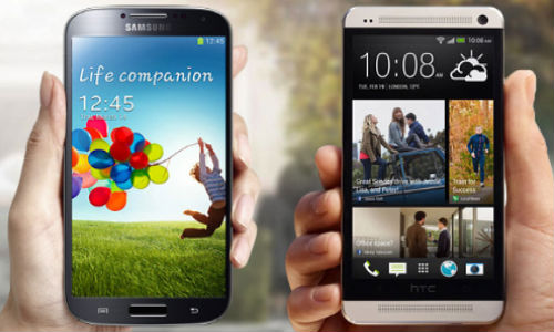 Samsung Galaxy S4 vs HTC One: Quad Core Handsets Price Battle Begins