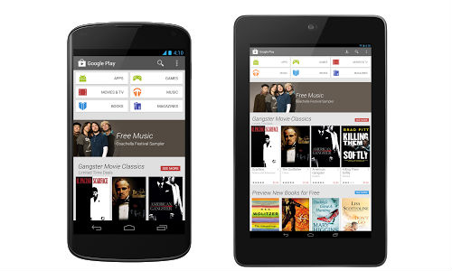 Google Unveils Redesigned Play Store v4.0 App for Android Devices