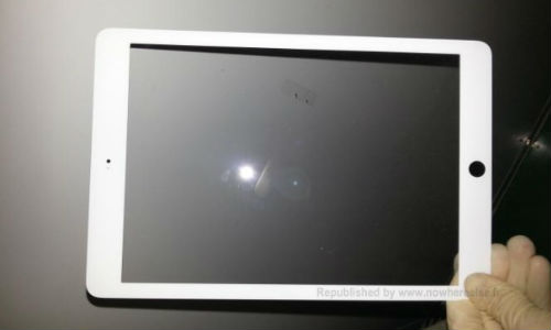 iPad 5 Front Panel Leaked: Boasts iPad Mini Like Sleek Bezel