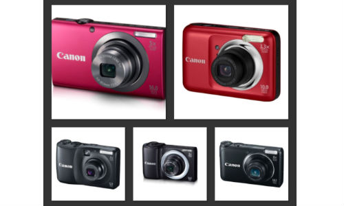 Top 5 Canon Digital Cameras Under Rs 5000