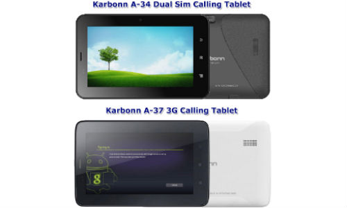 Karbonn TA-Fone A34, TA-Fone A37 Launched Online