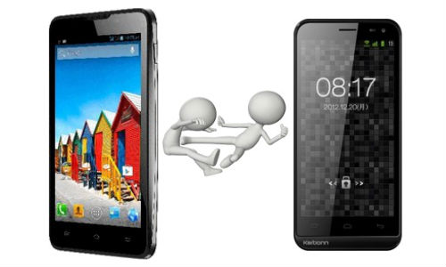 Micromax Canvas Viva A72 vs Karbonn Smart A12: Which Is Better?