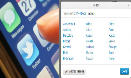 Twitter Trends in India Expanded to 21 Local Cities