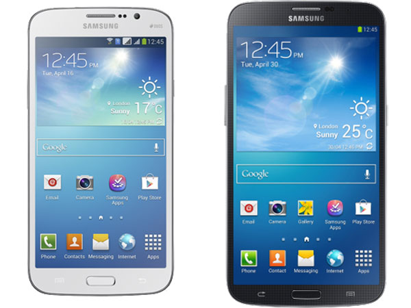 Samsung Galaxy Mega 5.8 and Galaxy Mega 6.3