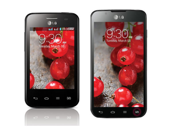 LG Optimus L3 2 and Optimus L7 2