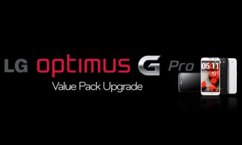 LG Optimus G Pro Getting Value Pack Upgrade Being Rolled Out