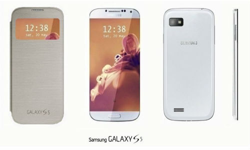 Samsung Galaxy S5: Bizarre Concept Shots of S4 Successor Surfaces