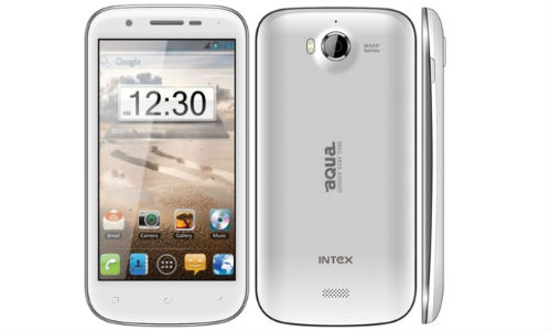 Intex Launches Aqua Wonder Quad Core at Rs 9990