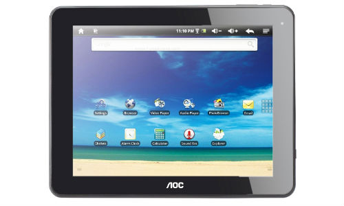 AOC Breeze 7.0 and 9.7 Android Jelly Bean Tablets Unveiled