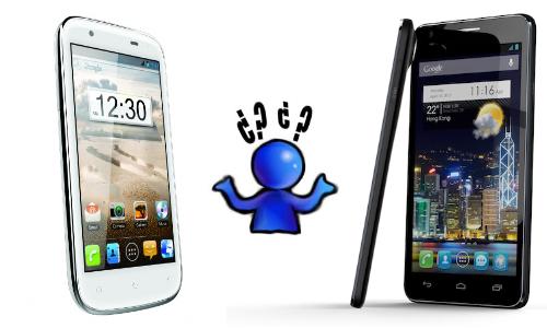 Intex Aqua Wonder Quadcore vs Alcatel One Touch Idol Ultra
